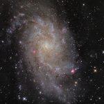 M33: a Galáxia do Triângulo revelada por Manfred Konrad
