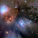 NGC 2170: uma natureza morta cósmica revelada por Adam Block