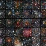 Olhos infravermelhos do VISTA revelam 96 novos aglomerados estelares escondidos pelo disco da Via Láctea