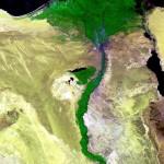 Delta do Nilo no Egito pelo Proba V