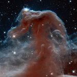 A Cabeça do Cavalo em infravermelho pelo Hubble