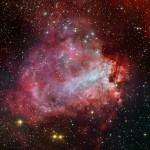 Roberto Colombari e Robert Gendler apresentam a fábrica de estrelas Messier 17