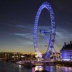 Nuvens noctilucentes embelezam a noite em Londres
