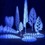 Rangeomorpha: formas de vida complexa antiga se alimentavam através de sua arquitetura fractal