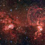 NGC 3603 e NGC 3576: ESO revela uma paisagem espetacular de formação estelar