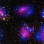 Choques de aglomerados de galáxias mostram o comportamento 'antisocial' da matéria escura