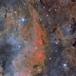 Estrelas e nebulosas brilhantes em Cygnus por André van der Hoeven