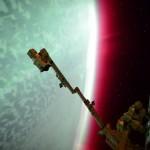 As cores da aurora planetária observadas da Estação Espacial Internacional