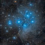 M45: o aglomerado estelar da Plêiades sob a lente de Marco Lorenzi