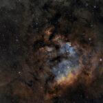 NGC 7822: a intrincada nebulosa revelada por César Blanco González