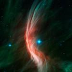 Cfa: Rádio telescópios espreitam estrelas escondidas no centro da nossa galáxia Via Láctea