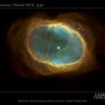 NGC 3132: A Nebulosa do Anel do Sul revelada pelo Hubble