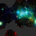 Detalhes do turbulento centro da nossa galáxia em raios-X pelo XMM-Newton da ESA