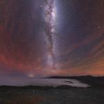 Yuri Beletsky captura a luminescência atmosférica e a Via Láctea nos céus austrais no Chile