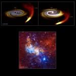 Sagittarius A*: Buraco Negro no centro da nossa galáxia Via Láctea mostra sinais de maior atividade