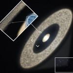 HD 100546: astrônomos da RAS examinam o interior do 'saco amniótico' de sistema estelar em gestação