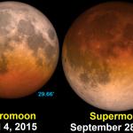 27 de setembro de 2015: aprecie o Eclipse da 'Super Lua'