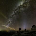 Via Láctea sobre a Estação Astrofísica de Bosque Alegre na Argentina por Sebastián D' Alessandro