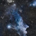 IC 2118: Jeff Signorelli retrata a nebulosa da Cabeça da Bruxa