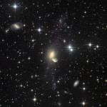 Reciclando a galáxia NGC 5291 por Johannes Schedler