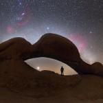 Procurando Vênus sob o Arco Spitzkoppe por Petr Horálek