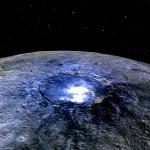 NASA explica os pontos brilhantes em Ceres retratados pela sonda DAWN