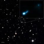 B3 0727+409: a radiação de fundo de micro-ondas do Big Bang permitiu a descoberta de jato relativístico emanado por quasar distante