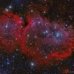 IC 1848: a nebulosa da Alma por Roberto Colombari