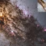 SN2016adj: uma supernova brilha na poeirenta galáxia Centaurus A