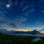 Eclipse Solar total em Ternate por Babak Tafreshi