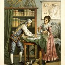 https://en.wikipedia.org/wiki/Caroline_Herschel#/media/File:Sir_William_Herschel_and_Caroline_Herschel._Wellcome_V0002731.jpg