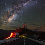 Estrada para a Via Láctea a partir de La Silla por Babak Tafreshi
