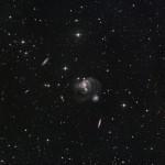 O grupo compacto de galáxias Hickson 91 em Piscis Austrinuspor CHART32 e Johannes Schedler