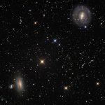 NGC 5078, NGC 5101 & IC 879 por Dietmar Hager e Eric Benson