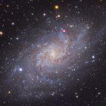 M33: a galáxia do Triângulo por Giovanni Benintende