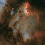 IC 5070: um 'poeirento' Pelicano em Cygnus por Steve Richards (Chanctonbury Observatory)