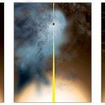 """B3 1715+425: colisão de galáxias deixa para trás um buraco negro supermassivo """"quase nu"""""""