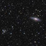NGC 7331 e o Quinteto de Stephan em Pegasus por Péter Feltóti