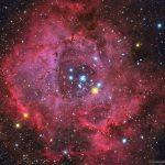 NGC 2237: a 'Nebulosa Roseta' por Evangelos Souglakos