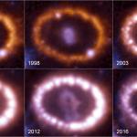 Vamos celebrar o 30º aniversário da Supernova SN 1987A ?