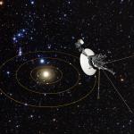 Hubble fornece o mapa da trajetória interestelar da viagem das espaçonaves Voyager 1 e 2