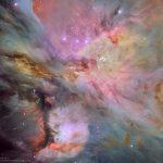 Poeiras, gases e estelas na Nebulosa de Órion por Jesús M.Vargas e Maritxu Poyal