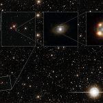 Astrônomos observam imagens múltiplas de uma Supernova Tipo Ia através de lente gravitacional capturadas pelo Hubble