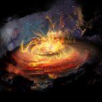 Uma nuvem caoticamente magnetizada é ou não um lugar para se construir uma estrela?